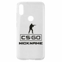 Чехол для Xiaomi Mi Play Ваш псевдоним в игре CsGo
