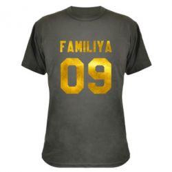 Камуфляжная футболка Ваша фамилия и номер голограмма
