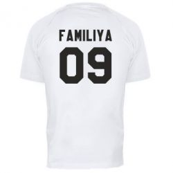 Мужская спортивная футболка Ваша фамилия и номер - FatLine