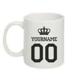 Кружка 320ml Ваше имя корона
