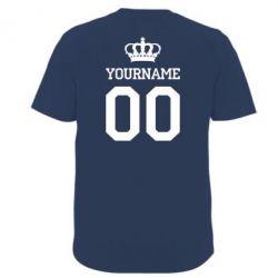 Футболка Ваше имя корона