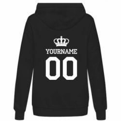 Женская толстовка Ваше имя корона