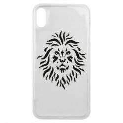 Чохол для iPhone Xs Max Vector lion pattern