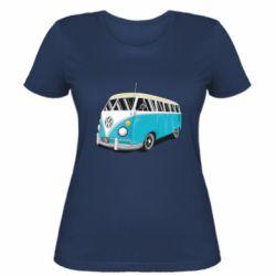 Женская футболка Vector Volkswagen Bus