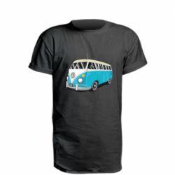 Удлиненная футболка Vector Volkswagen Bus