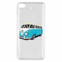 Чехол для Xiaomi Mi 5s Vector Volkswagen Bus
