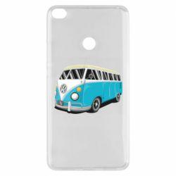 Чехол для Xiaomi Mi Max 2 Vector Volkswagen Bus