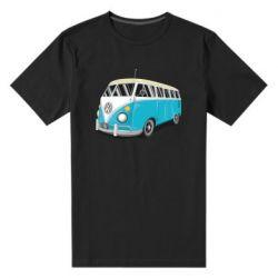 Мужская стрейчевая футболка Vector Volkswagen Bus