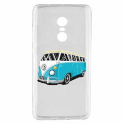 Чехол для Xiaomi Redmi Note 4 Vector Volkswagen Bus