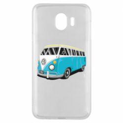 Чехол для Samsung J4 Vector Volkswagen Bus