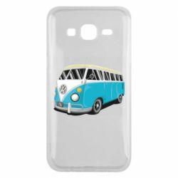 Чехол для Samsung J5 2015 Vector Volkswagen Bus