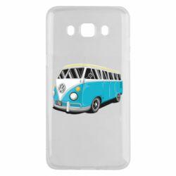 Чехол для Samsung J5 2016 Vector Volkswagen Bus