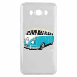 Чехол для Samsung J7 2016 Vector Volkswagen Bus