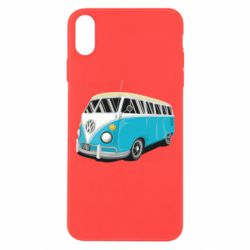 Чехол для iPhone Xs Max Vector Volkswagen Bus