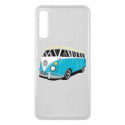 Чехол для Samsung A7 2018 Vector Volkswagen Bus