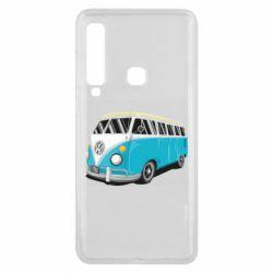 Чехол для Samsung A9 2018 Vector Volkswagen Bus