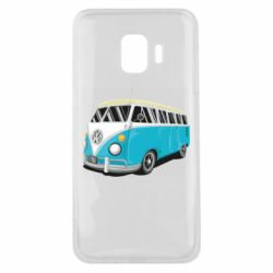 Чехол для Samsung J2 Core Vector Volkswagen Bus