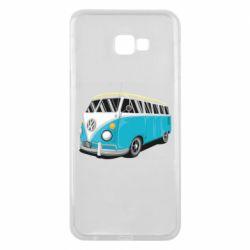 Чехол для Samsung J4 Plus 2018 Vector Volkswagen Bus