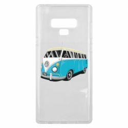 Чехол для Samsung Note 9 Vector Volkswagen Bus