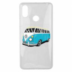Чехол для Xiaomi Mi Max 3 Vector Volkswagen Bus
