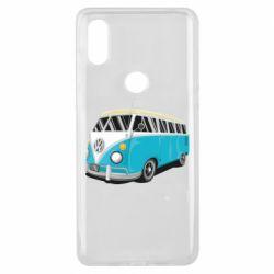 Чехол для Xiaomi Mi Mix 3 Vector Volkswagen Bus