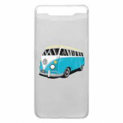 Чехол для Samsung A80 Vector Volkswagen Bus