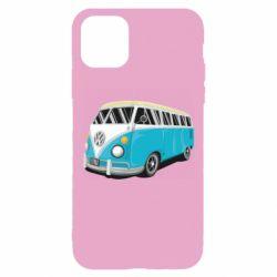 Чехол для iPhone 11 Pro Vector Volkswagen Bus