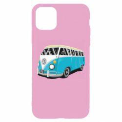 Чехол для iPhone 11 Pro Max Vector Volkswagen Bus