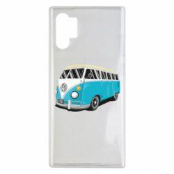 Чехол для Samsung Note 10 Plus Vector Volkswagen Bus