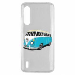 Чехол для Xiaomi Mi9 Lite Vector Volkswagen Bus