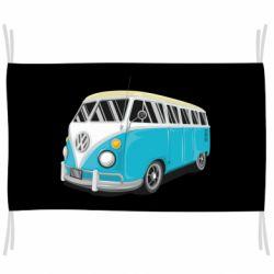 Флаг Vector Volkswagen Bus