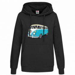 Женская толстовка Vector Volkswagen Bus