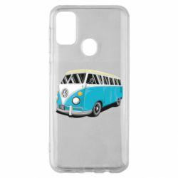 Чехол для Samsung M30s Vector Volkswagen Bus