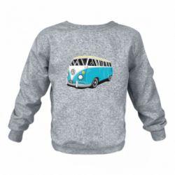 Детский реглан (свитшот) Vector Volkswagen Bus