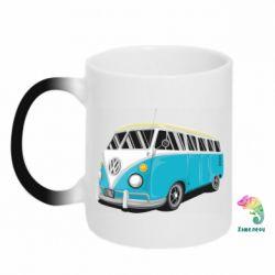 Кружка-хамелеон Vector Volkswagen Bus