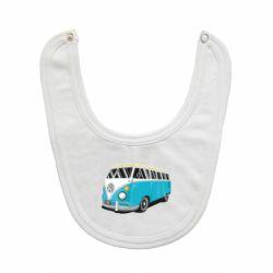 Слюнявчик  Vector Volkswagen Bus