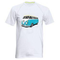 Мужская спортивная футболка Vector Volkswagen Bus