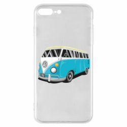 Чехол для iPhone 7 Plus Vector Volkswagen Bus