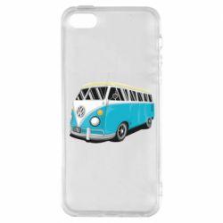 Чехол для iPhone5/5S/SE Vector Volkswagen Bus