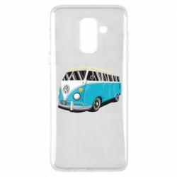 Чехол для Samsung A6+ 2018 Vector Volkswagen Bus