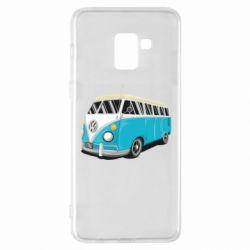 Чехол для Samsung A8+ 2018 Vector Volkswagen Bus