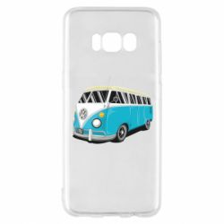 Чехол для Samsung S8 Vector Volkswagen Bus