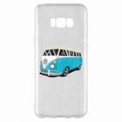 Чехол для Samsung S8+ Vector Volkswagen Bus