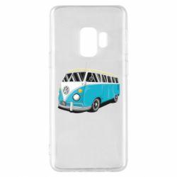 Чехол для Samsung S9 Vector Volkswagen Bus