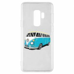 Чехол для Samsung S9+ Vector Volkswagen Bus