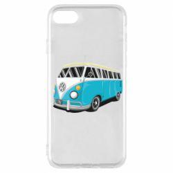 Чехол для iPhone 8 Vector Volkswagen Bus