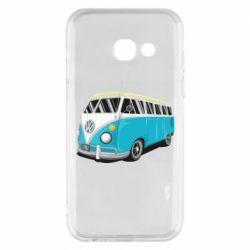 Чехол для Samsung A3 2017 Vector Volkswagen Bus