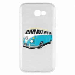 Чехол для Samsung A7 2017 Vector Volkswagen Bus