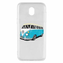 Чехол для Samsung J5 2017 Vector Volkswagen Bus