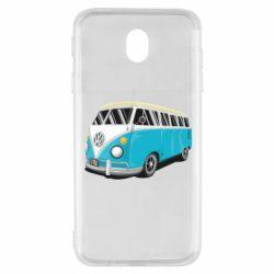 Чехол для Samsung J7 2017 Vector Volkswagen Bus